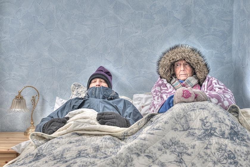 Gezond: Warm inslapen  (istock)