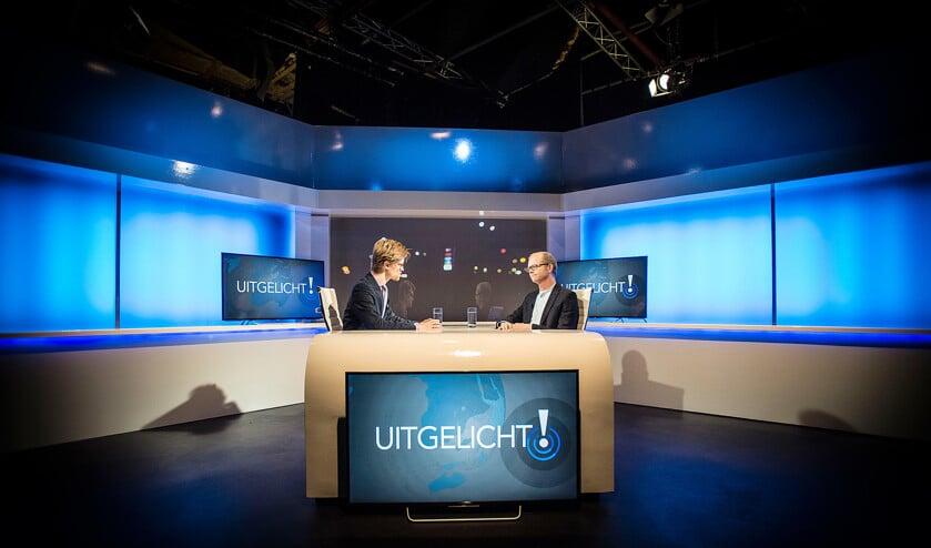 Met het actualiteitenprogramma Uitgelicht wil Family7 duiden wat er gebeurt in de wereld.  (Carel Schutte)