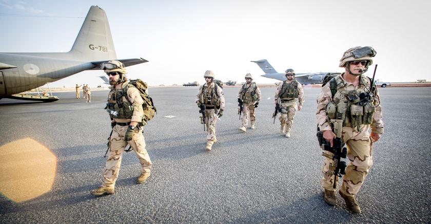 Nederland miskent de essentie van oorlog. We zijn het gaan zien als een buitenlands-politiek instrument om 'goed te doen'. Blijkbaar zijn we geweld wel érg ontwend geraakt – als we er in Nederland ooit al aan gewend waren.  (anp / Jerry Lampen)