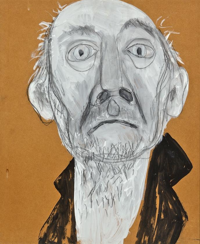 Kees Timmer, Zelfportret (Himself 1), 1968.   (Bob Goedewaagen en studio tromp)