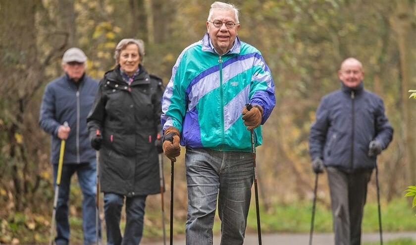 Klaas de Poel (84), 'mens van de dag' en fanatiek sporter  (Duncan Wijting)