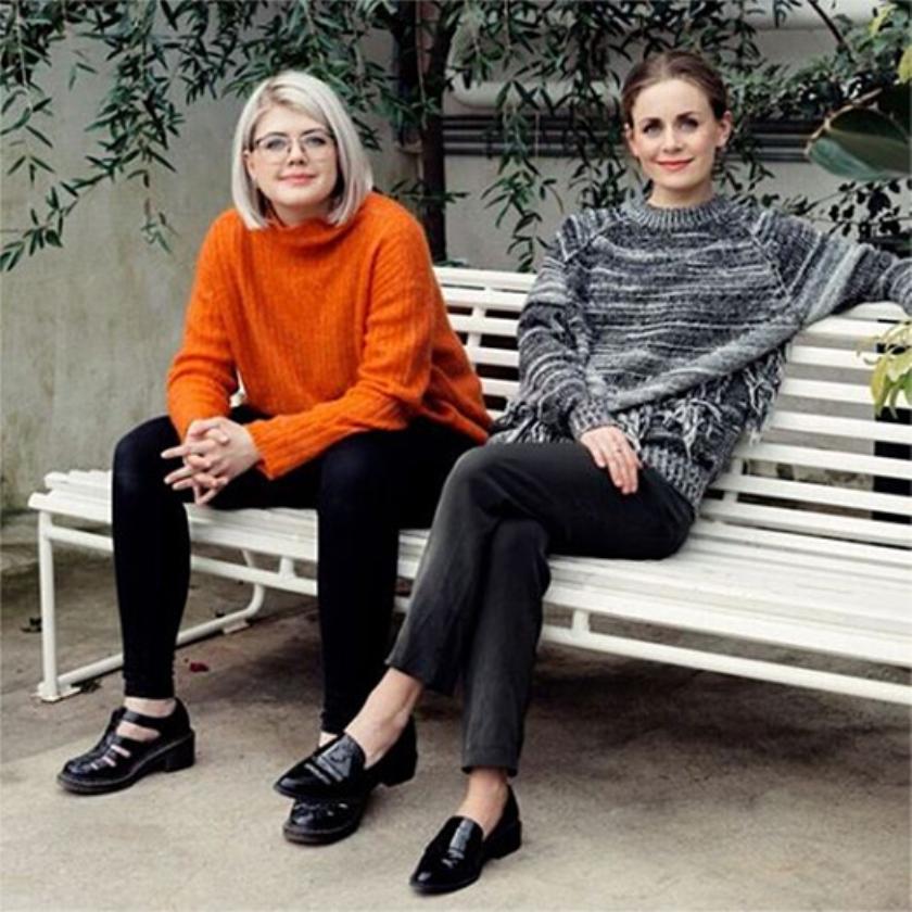 Ellen Støkken Dahl (links) en Nina Brochmann.   (nd)