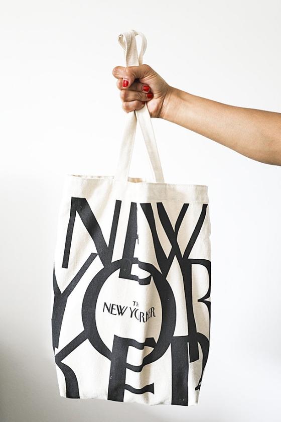 Zo'n tas laat zien wie je wilt zijn.   (The New Yorker)