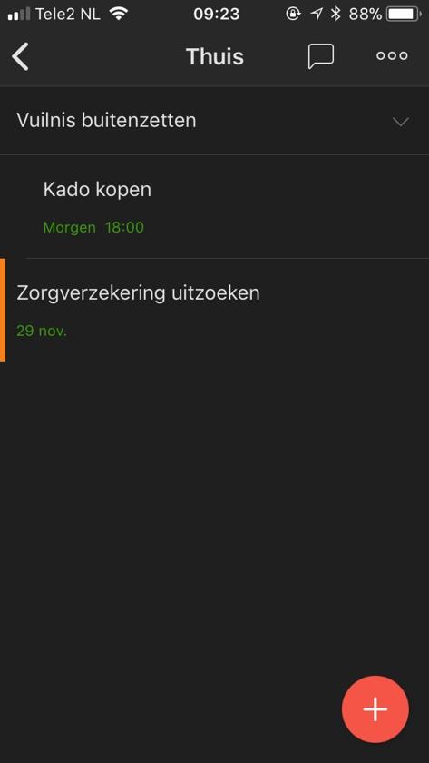 Apps: Todoist en VPRO Koos   (nd)