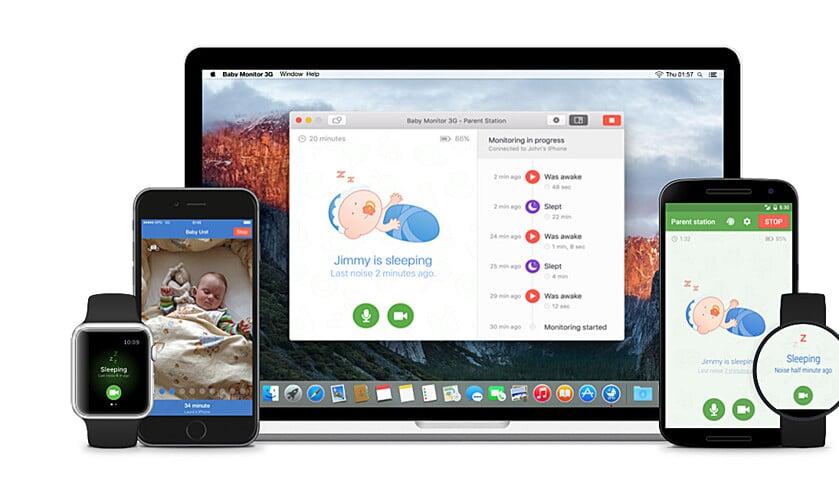 App: Een babyfoon op je tablet  (babyfoon 3g)