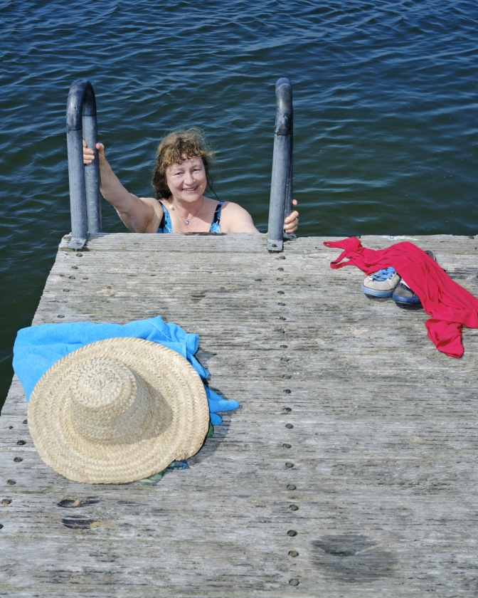 Lydia Rood over de zomer: Het liefst schrijf ik in mijn Chateau, een caravan   (Dick Vos)