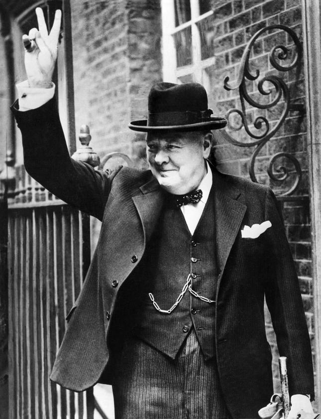 Winston Churchill in 1943.   (anp)