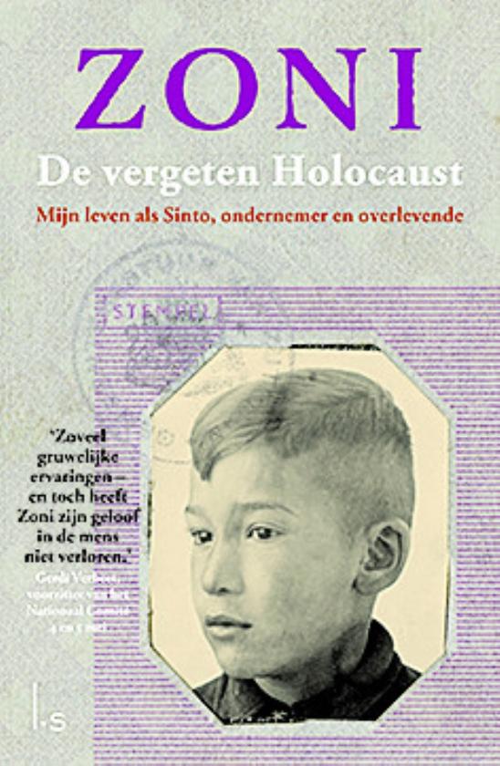 Holocaustoverlevende Zoni Weisz vertelt zijn levensverhaal   (anp / Robin van Lonkhuijsen en uitg. Luijtingh-Sijthoff)