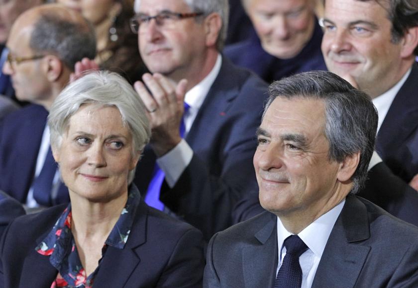 Penelope en François Fillon.  (ap / Christophe Ena)