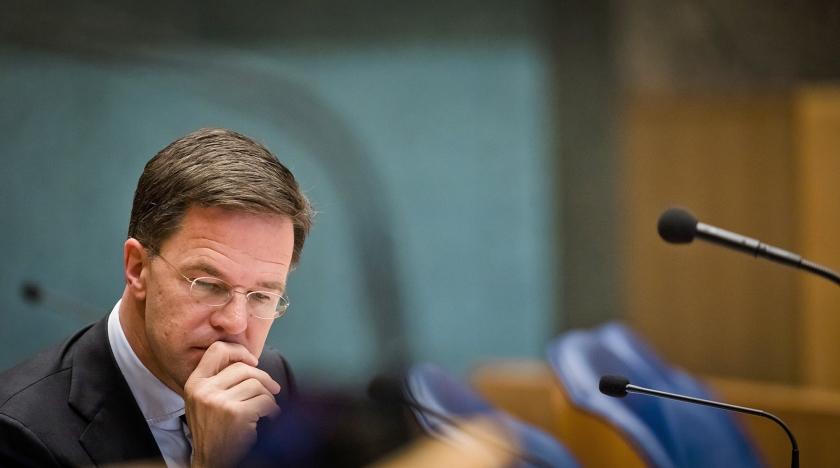 Premier Mark Rutte wil de Tweede Kamer niet garanderen dat er geen extra geld naar de Europese Unie gaat.  (anp / Bart Maat)