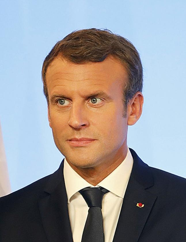 Emmanuel Macron   (ap / Laurent Cipriani)