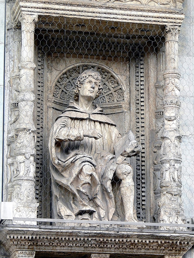 Standbeeld van Plinius de Jongere (circa 62-circa 113 na Christus).  (nd)