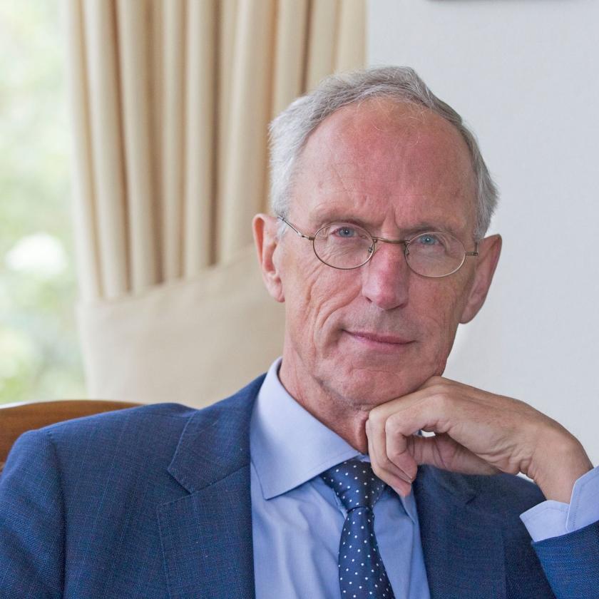 Henk Jochemsen: 'De meest kwetsbare groep zal nooit zelfredzaam worden. Voor hen zijn permanente hulpstructuren nodig.'   (Anton Dommerholt)