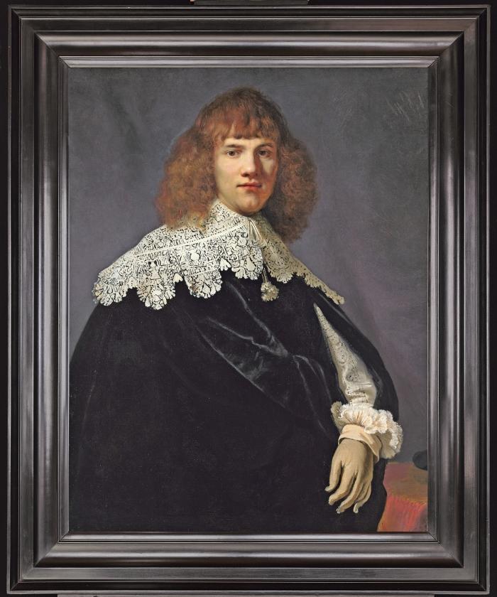 Onbekende Rembrandt ontdekt   (René  Gerritsen / jan six fine arts)
