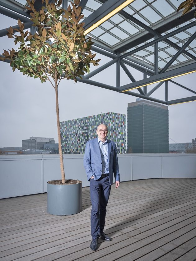 Bert Weckhuysen: 'Ik zou nooit willen meewerken aan het maken van chemische wapens of kernwapens.'   (Sjaak Verboom)