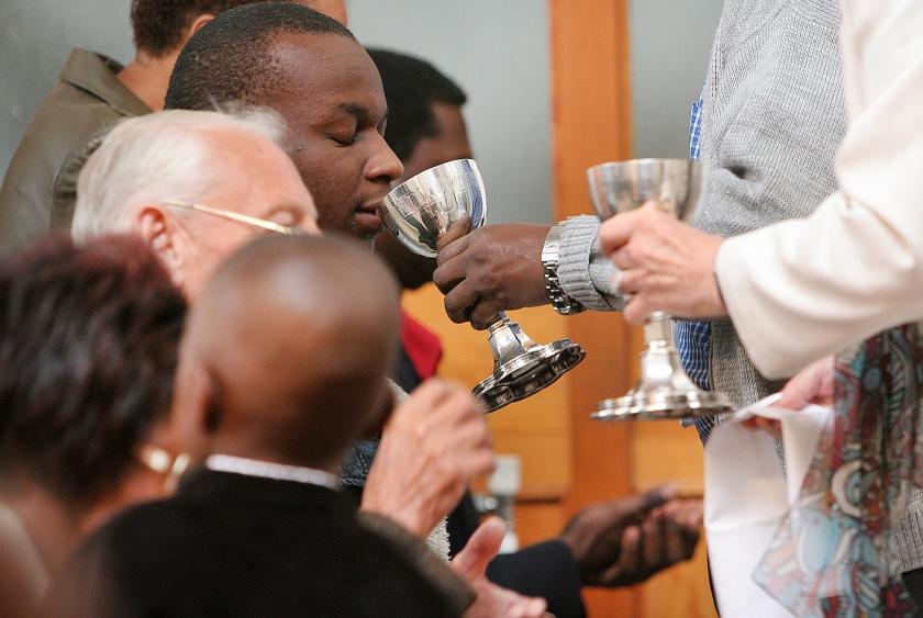 De maaltijd van de Heer is een van de prachtigste dingen die de kerk de wereld te bieden heeft.  (Philippe Lissac)