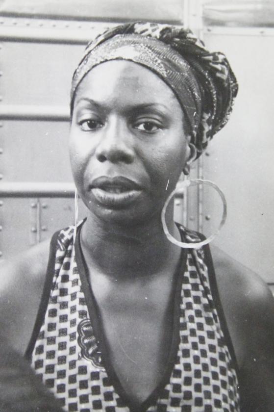Nina Simone in 1969.   (nd)