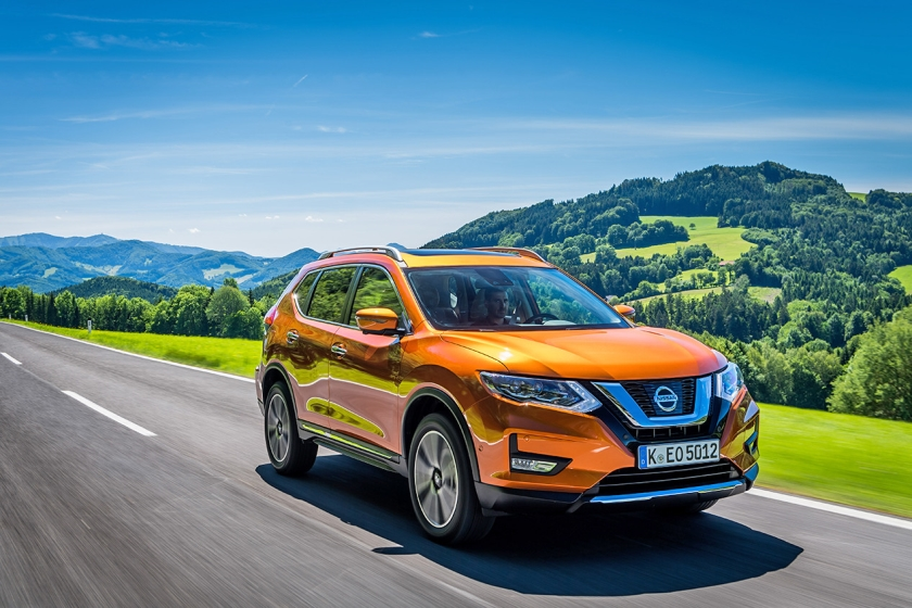 De productie van de Nissan X-Trail gaat toch niet naar het Britse Sunderland.  (nissan)