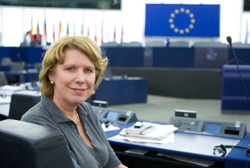 ABP-voorzitter Corien Wortmann.  (anp / Koen Suyk)