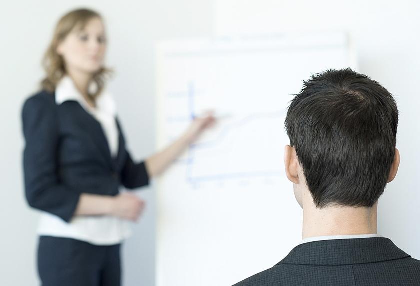 'De prestaties van vrouwen worden strenger beoordeeld dan die van mannen.'  (anp / Roos Koole)