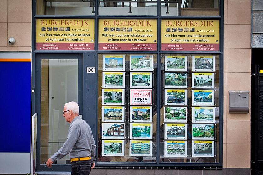 Verkopers van huizen hoeven steeds minder lang te wachten op een koper.  (anp / Jeroen Jumelet)