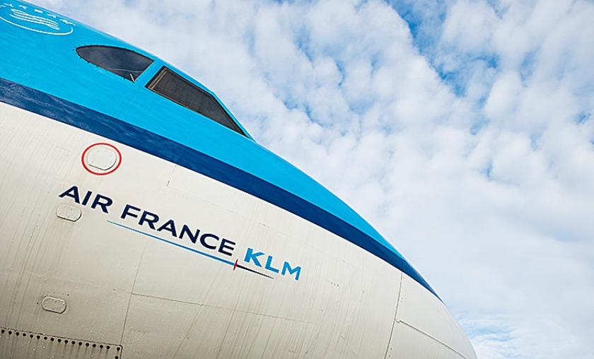 Piloten van Air France zijn ontevreden over moederbedrijf Air France-KLM, dat meer zou investeren in KLM dan in hen.  (anp / Remko de Waal)