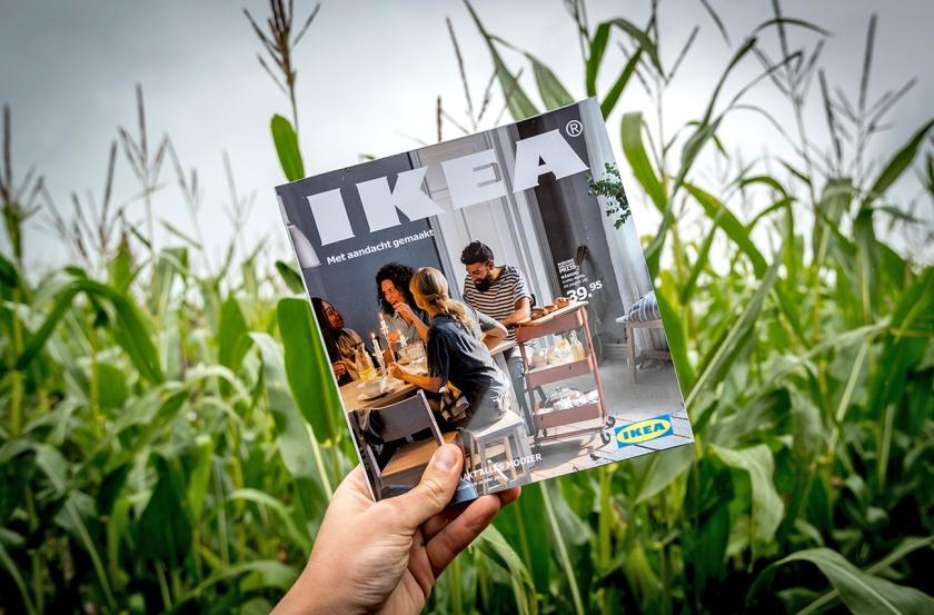 De IKEA-catalogus is al jarenlang het meest gedrukte boekwerk te wereld.  (anp / Remko de Waal)