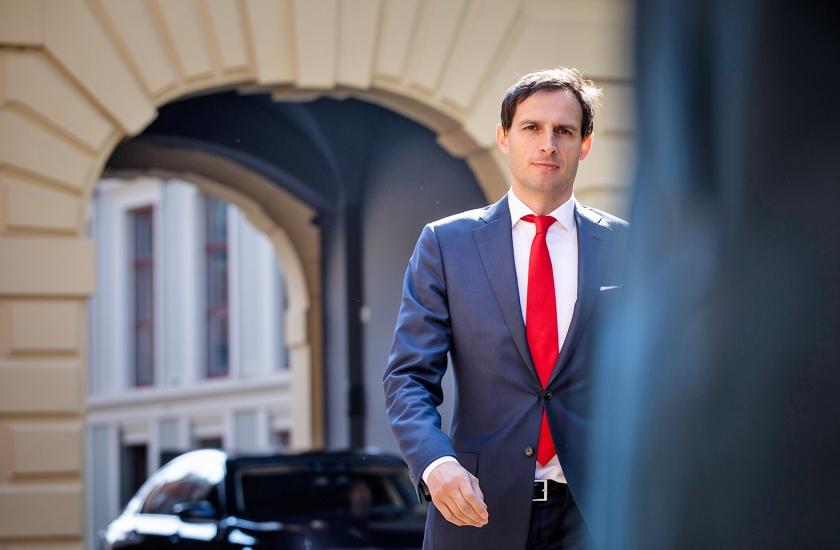 Minister Wopke Hoekstra van Financiën.  (anp / Bart Maat)