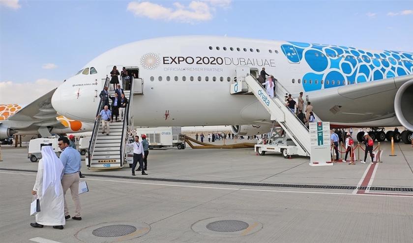 Emirates is met 113 toestellen de grootste gebruiker van de A380.  (Riekelt Pasterkamp)