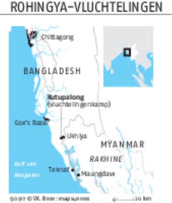 'Rohingya hebben snel hulp nodig'   (ap / Dar Yasin)