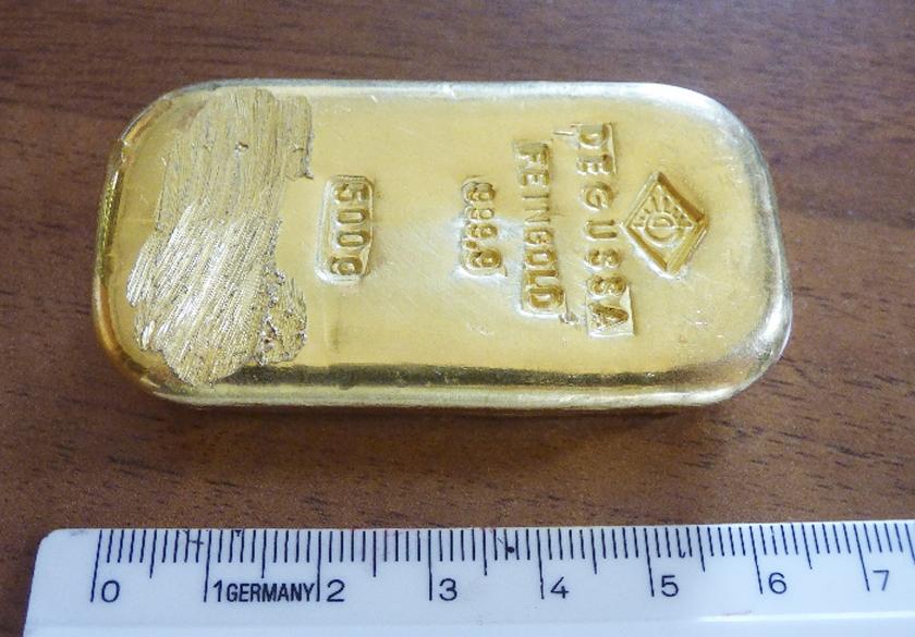 Goud blijft voor veel mensen een magisch product.  (ap)