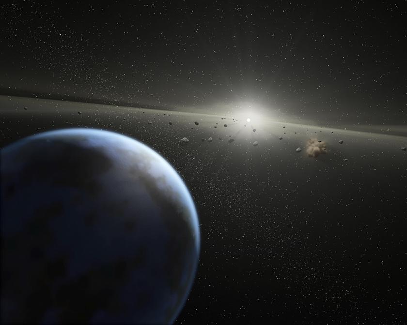 Impressie van een exoplaneet.  (beeld)