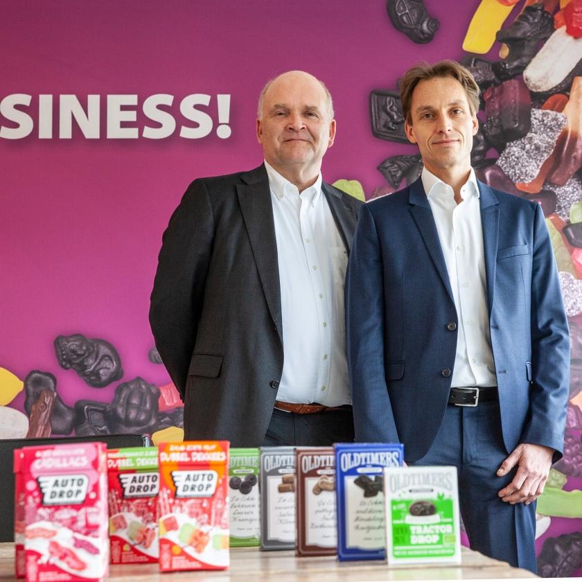 Directeur Thijmen Peter de With (l.) en commercieel directeur Jeroen van Dongen.   (Harry Cock)