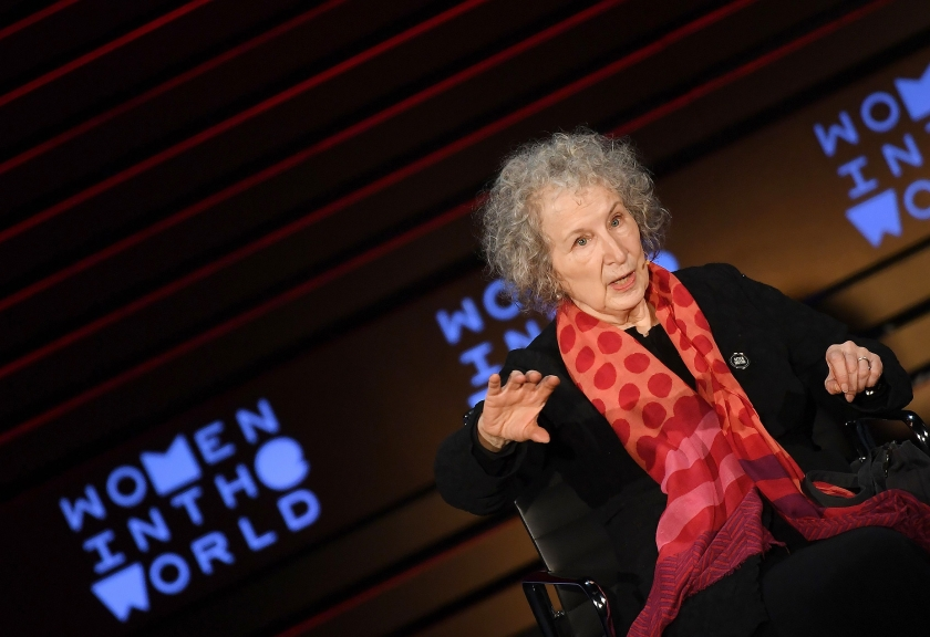 Margaret Atwood  (afp / Angela Weiss)