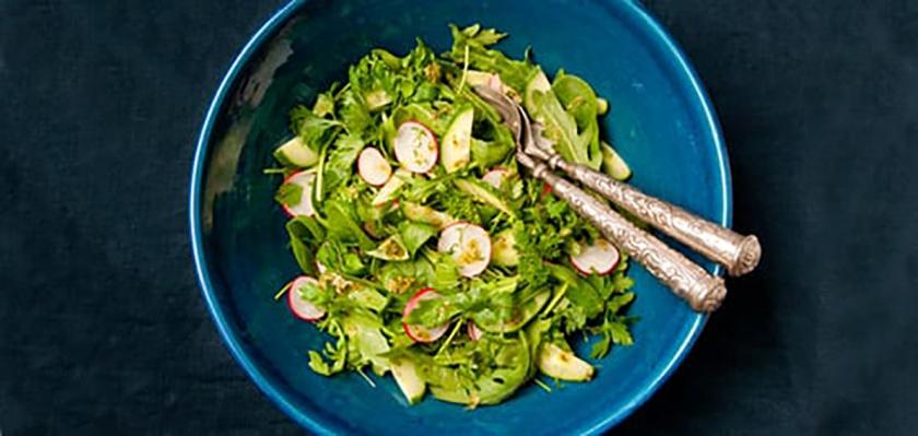Recept: Zomerse kruidensalade  (voedingscentrum)