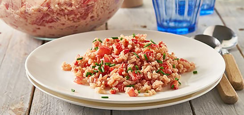 Recept: Rode rijstsalade  (voedingscentrum)