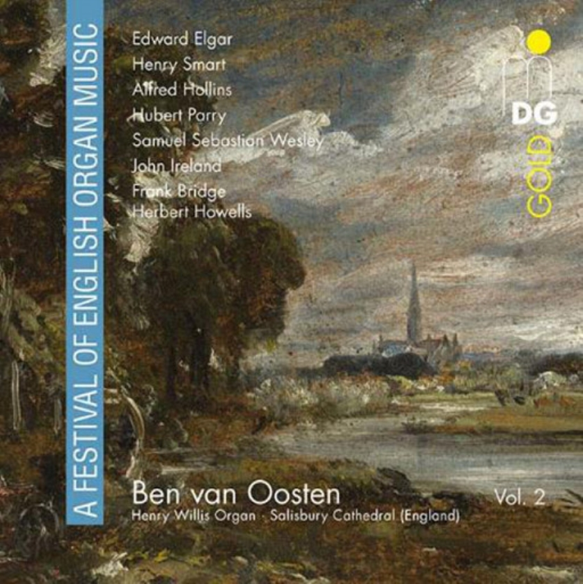 CD-recensie: Ben van Oosten - A Festival of English Organ Music (volume 2)