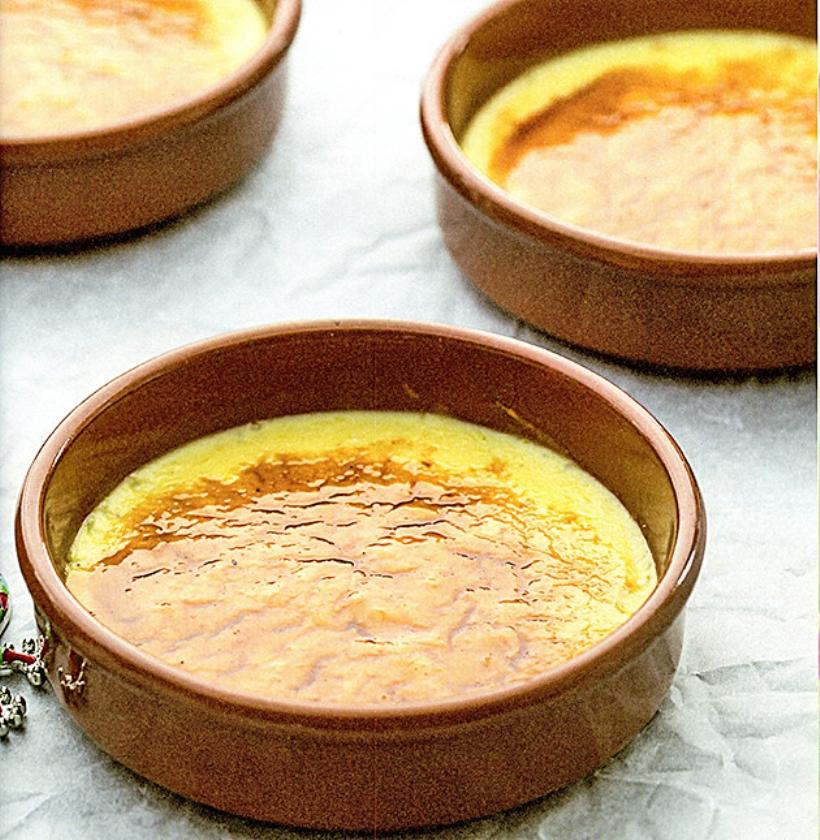 Recept: crema catalona  (uit besproken boek)