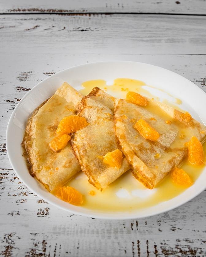 Recept: Crêpes Suzettes   (fontaine uitgevers)