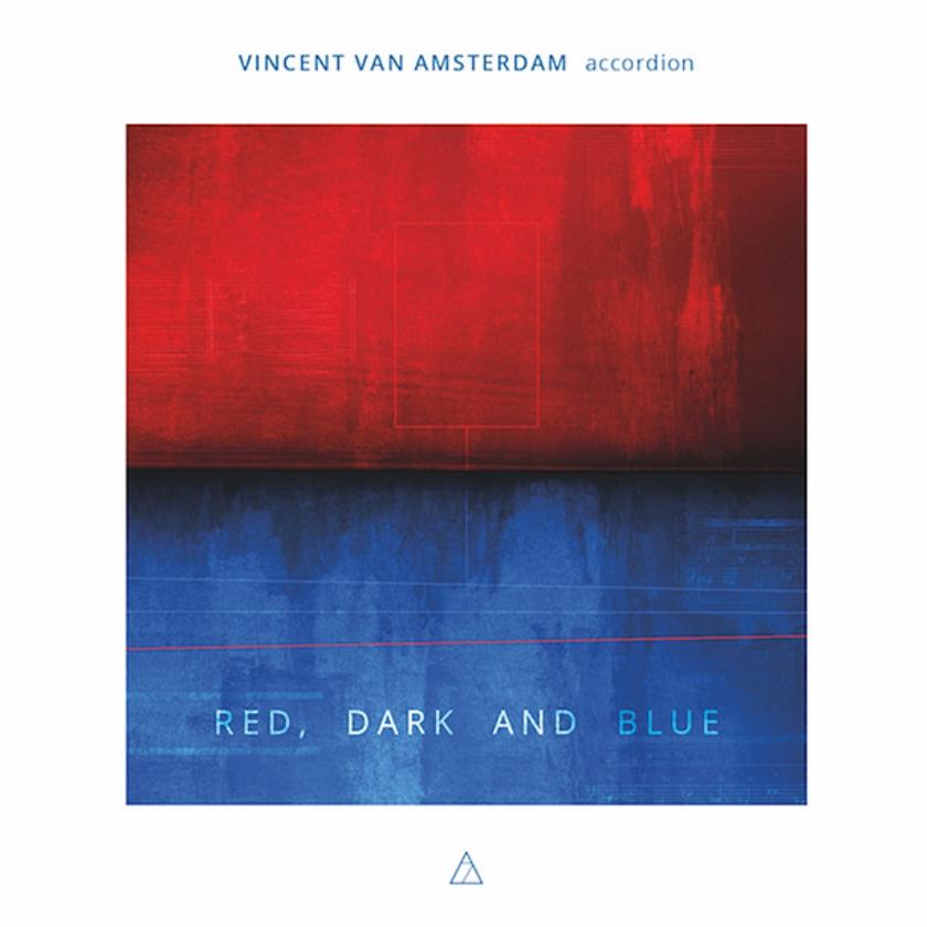 CD: Vincent van Amsterdam - Red, Dark and Blue