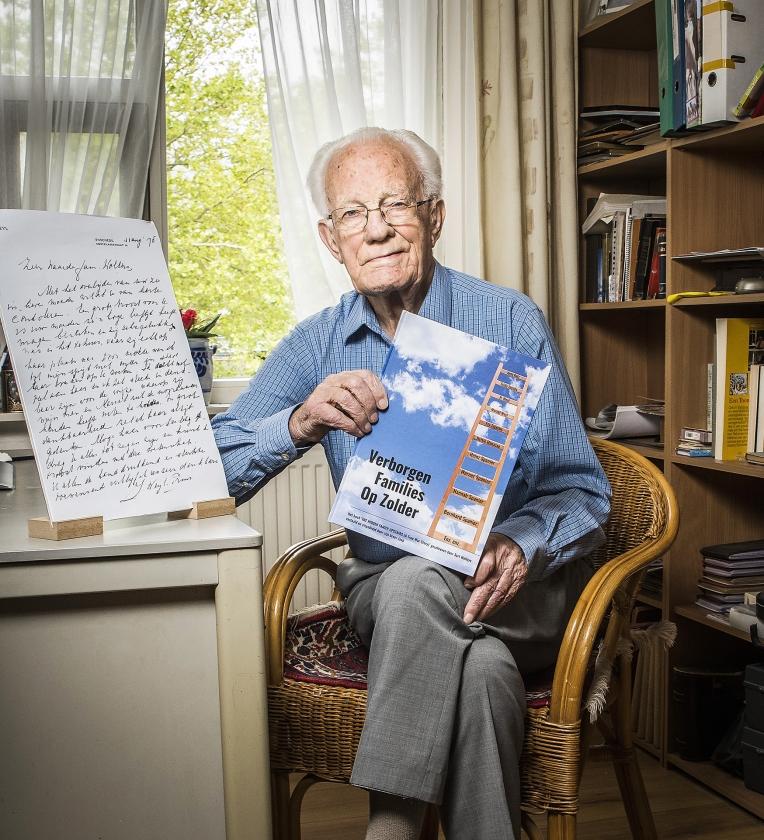Ouderenportret: 'Mijn geloof begint waar mijn verstand ophoudt'   (Reinier van Willigen)