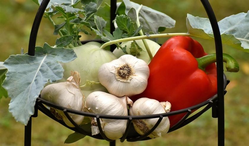 Recept: Geroosterde tomaten-paprikasoep met stokbrood  (voedingscentrum)