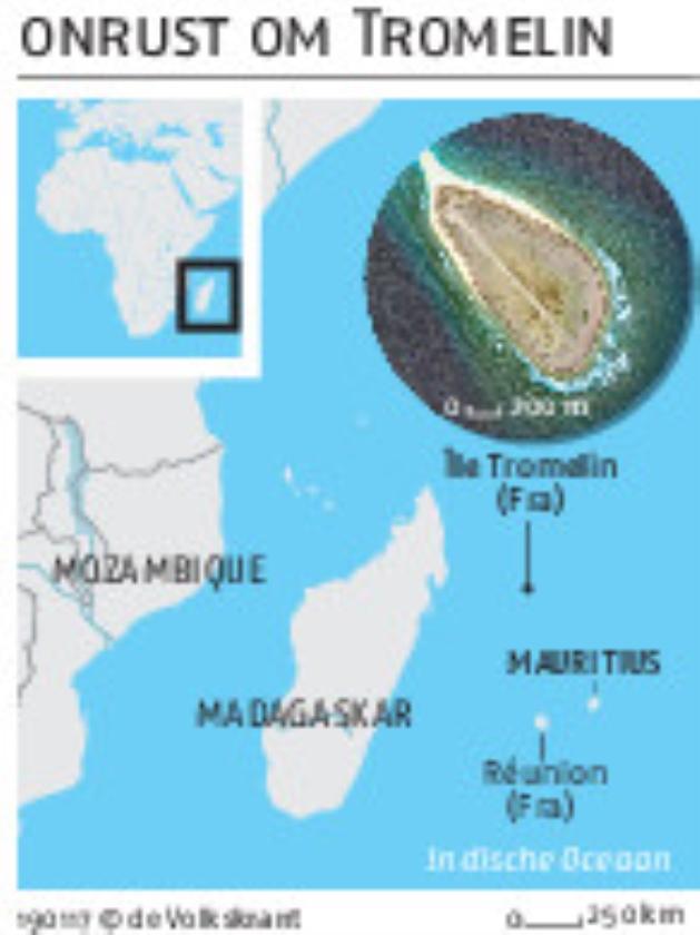 Het eilandje Tromelin blijft Frans   (wikimedia commons)