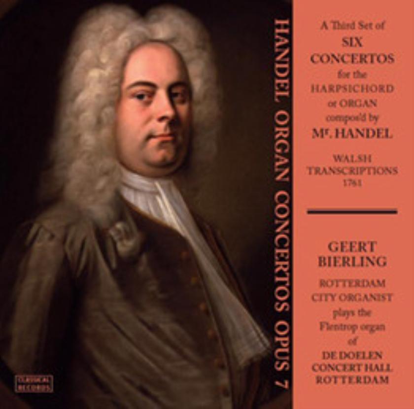 CD Geert Bierling: 'Handel orgelconcerten deel 2'