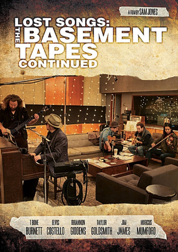 CD/DCD: Eagle Vision-Lost on the river/Lost songs: Basement Tapes