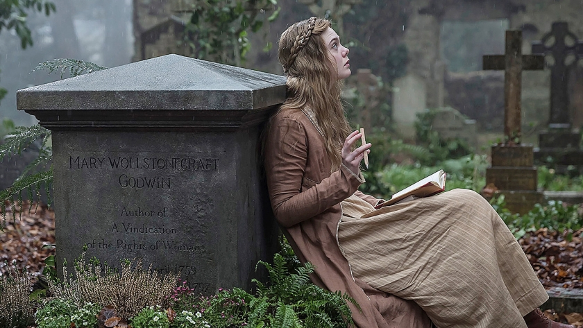 Film: Mary Shelley - Marry Shelley komt dichterbij, maar blijft ook op afstand  (paradiso entertainment)