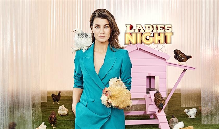TV Optie: Ladies Night met talkshowhost Merel Westrik