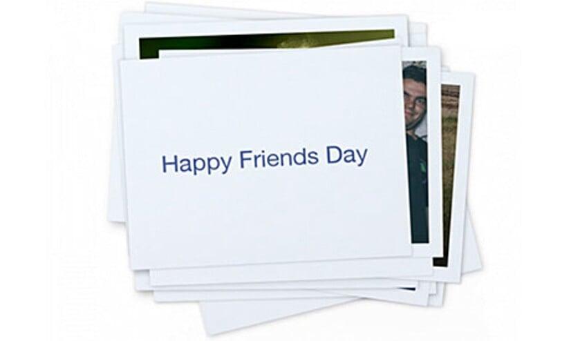 Viral: #Vriendendag op Facebook: Gefeliciteerd met ons!  (Facebook)