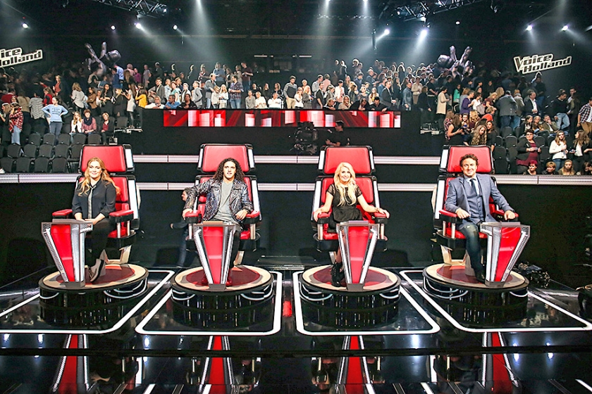 Het programma The Voice is het internationale succesnummer van Talpa.  (anp / Levin den Boer)