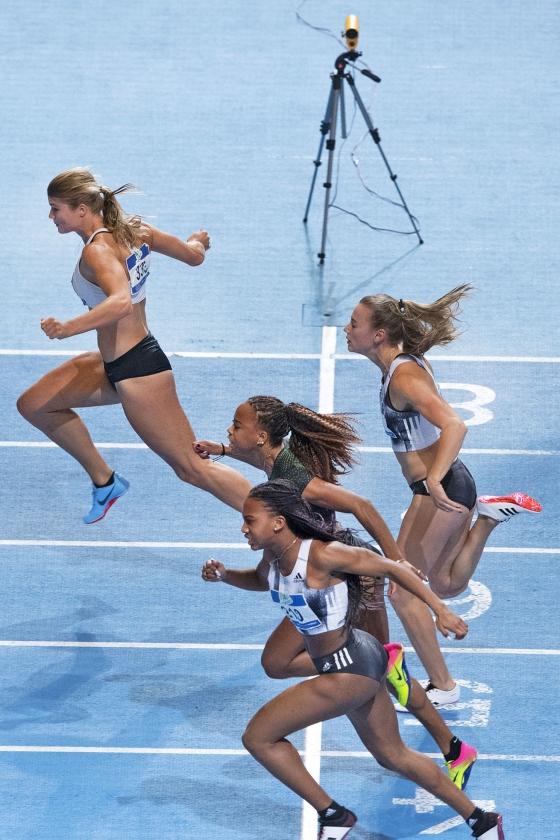 Witkijker: Supersnelle vrouwen in de atletiek   (anp / Olaf Kraak)